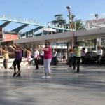 Actividaes de Movete en familia en parque San Martin 1