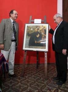 Donación de cuadros al obispado y al municipio de Pedro Ortiz de Zarate 1