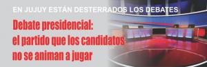 NOTINOR. AUSENCIA DE DEBATE EN JUJUY Y ARGENTINA