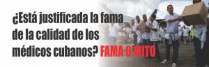 NOTINOR. Está justificada la fama de la calidad de los médicos cubanos