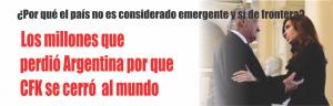 NOTINOR. LOS MILLONES QUE NOS HACE PERDER CRISTINA A LOS ARGENTINOS