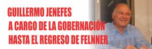 Notinor. Jenefes a cargo de la gobernacion en Jujuy
