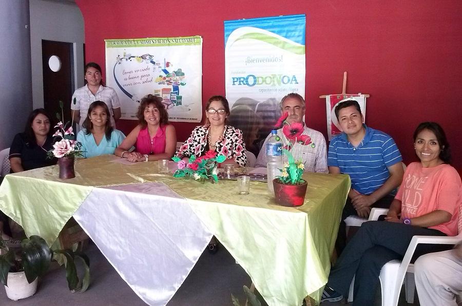 Programa de nutrición y salud bucal
