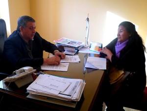 Reunión con Secretario de Trabajo