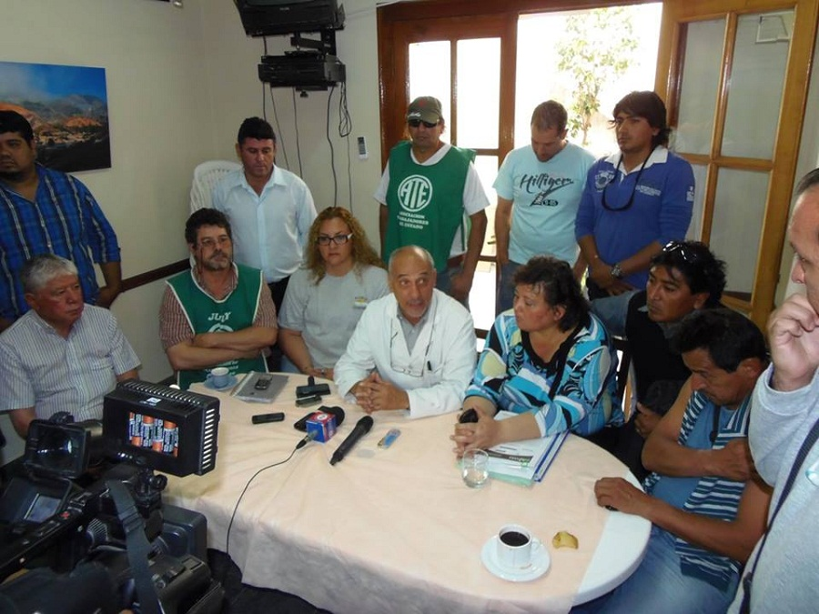 conf de prensa intersindical 1