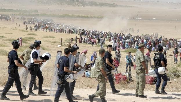 sirios kurdos isis