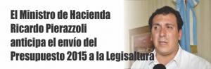 Notinor. 2015 presupuesto