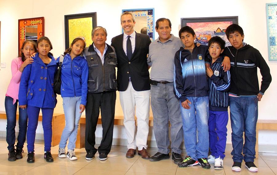 Visita guiada a alumnos de Valle Grande