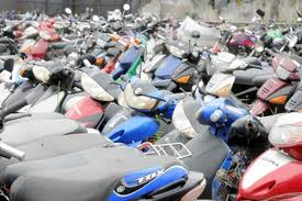 motos secuestradas