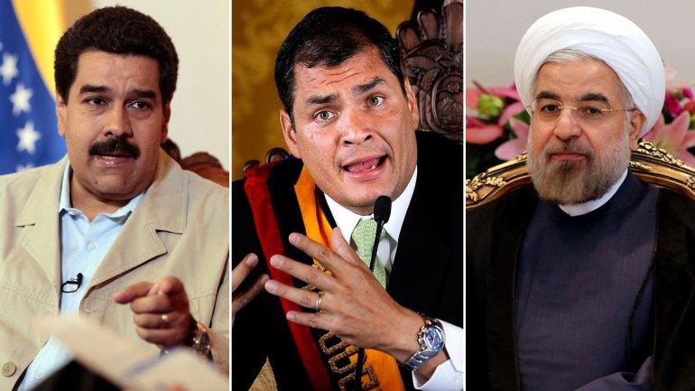 venezuela ecuador iran