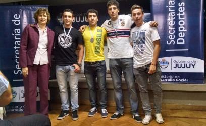 Atletas que consiguieron medallas en campeonatos argentinos.