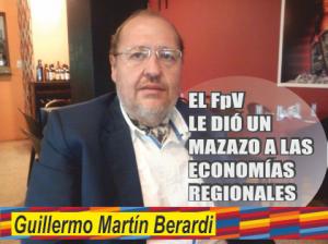 NOTINOR. MAZAZO A LAS ECONOMIAS REGIONALES. BERARDI