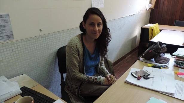 La precandidata del Frente de Izquierda al Parlasur, Natalia Morales