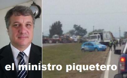 el ministro piquetero