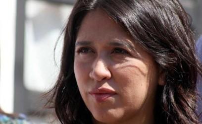 La candidata a diputada Victoria Montenegro