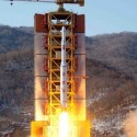 This picture released from North Korea s official Korean Central News Agency  KCNA  on February 7  2016 shows North Korea s rocket launch of the earth observation satellite Kwangmyong 4 at an undisclosed location in North Korea  North Korea hailed an  epochal event  but its latest long-range rocket launch on February 7 prompted international anger and plans for talks on a US missile defence system for the peninsula    REPUBLIC OF KOREA OUT     AFP PHOTO   KCNA via KNS        THIS PICTURE WAS MADE AVAILABLE BY A THIRD PARTY  AFP CAN NOT INDEPENDENTLY VERIFY THE AUTHENTICITY  LOCATION  DATE AND CONTENT OF THIS IMAGE  THIS PHOTO IS DISTRIBUTED EXACTLY AS RECEIVED BY AFP      ---EDITORS NOTE--- RESTRICTED TO EDITORIAL USE - MANDATORY CREDIT  AFP PHOTO KCNA VIA KNS  - NO MARKETING NO ADVERTISING CAMPAIGNS - DISTRIBUTED AS A SERVICE TO CLIENTS