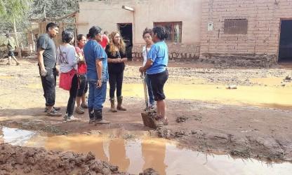 tilcara inundacion diputadas
