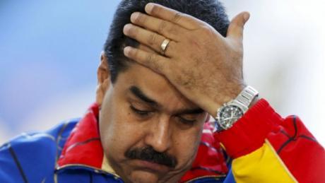 Resultado de imagem para Maduro triste