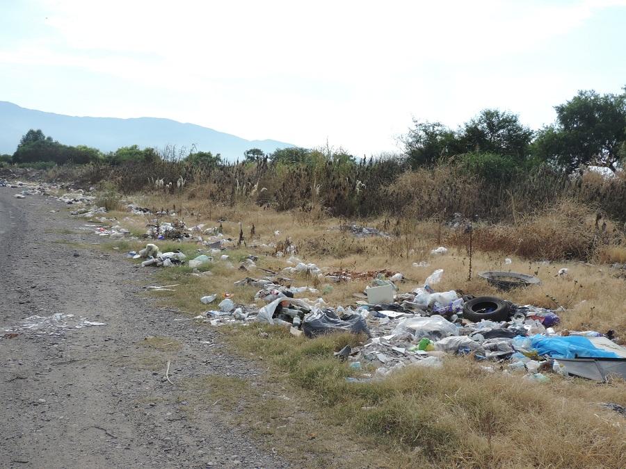 muy mal basura ruta