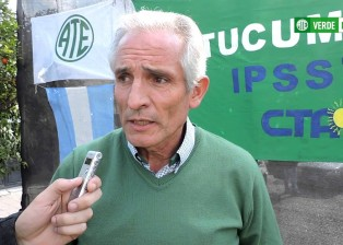 Gustavo Salas Correa Secretario General de ATE Tucumán