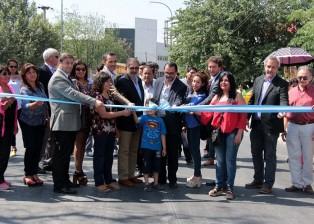 Inauguración pavimento av Corrientes