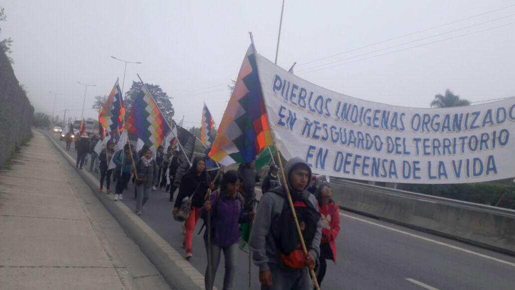 pueblos originarios marchan hacia san salvador.jpg123