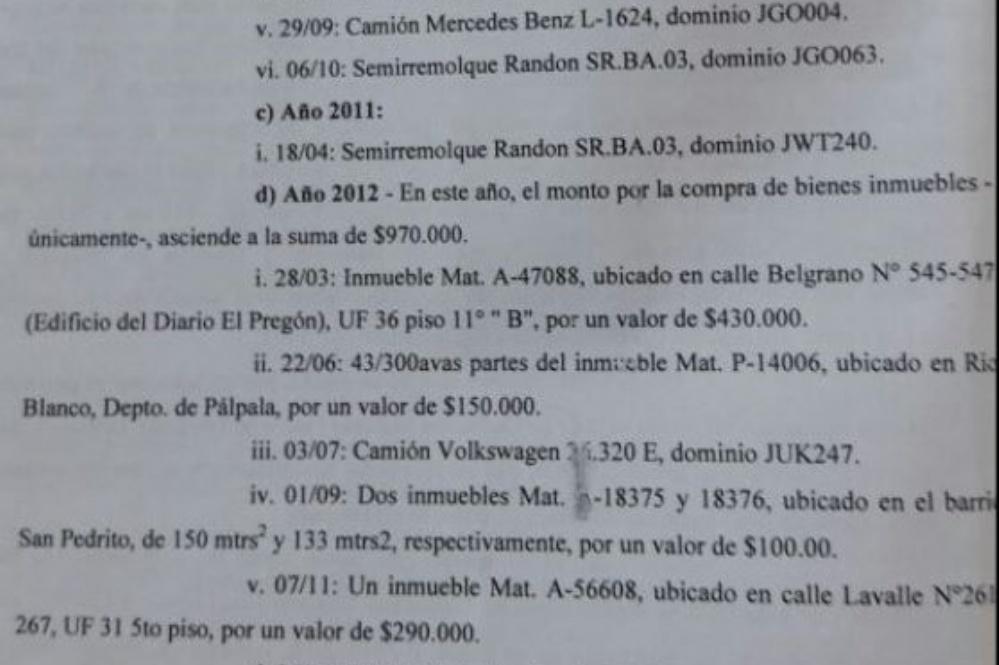 Allanaron la casa de Guillermo Fiad en el marco de la Megacausa ...